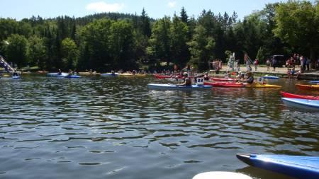 Descente du lac