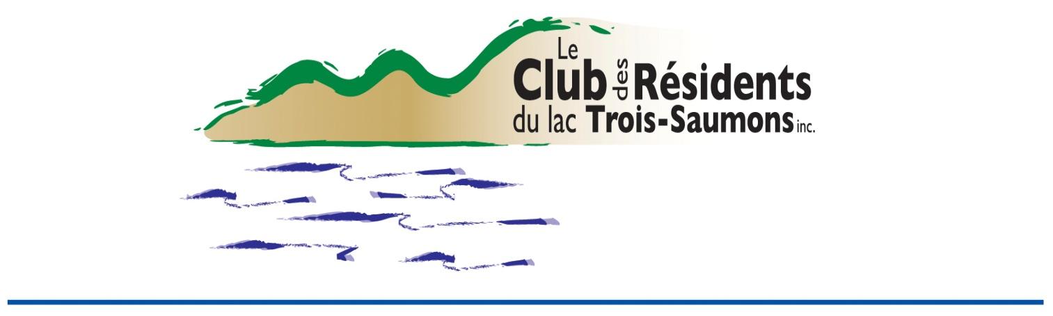 Club des Résidents du Lac Trois-Saumons